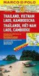 Thaiföld, Vietnám, Laosz, Kambodzsa térkép - Marco Polo