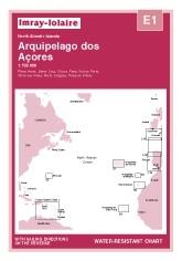 Arquipelago dos Açores Chart E1 - Imray
