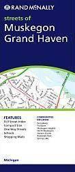 Muskegon & Grand Haven, MI térkép - Rand McNally
