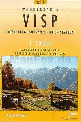 Visp - Landestopographie T 274