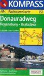 Donau-Radweg: Regensburg-Bratislava - Kompass RWK 151