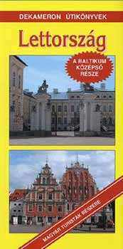 Latvia, guidebook in Hungarian - Dekameron