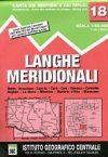 Langhe Meridionali térkép (No 18) - IGC