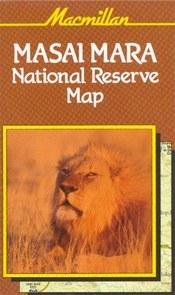 Masai Mara National Reserve térkép - Macmillan