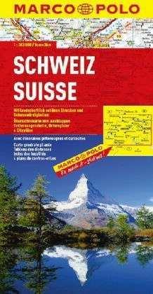 Svájc térkép - Marco Polo