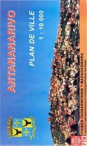 Antananarivo (Tana) térkép - Madagascar Survay