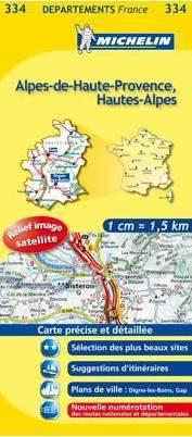 Alpes-de-Haute-Provence, Hautes-Alpes (334) - Michelin