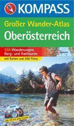 Oberösterreich Großer Wander-Atlas - Kompass K 601