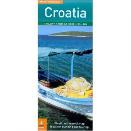 Horvátország térkép - Rough Maps