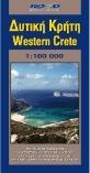 Nyugat-Kréta autótérkép - Road Editions