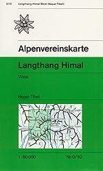 Langthang Himal, West - Alpenvereinskarte 0/10