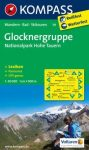 Glocknergruppe & Hohe Tauern National Park, hiking map (WK 39) - Kompass