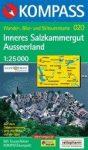 Inneres Salzkammergut, Ausseerland turistatérkép (WK 020) - Kompass