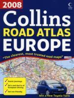 Európa autóatlasz 2008 (A4) - Collins