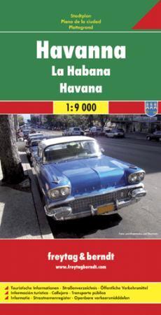 Havanna várostérkép - Freytag-Berndt