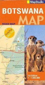 Botswana térkép - Map Studio