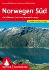 Norvégia (dél), német nyelvű túrakalauz - Rother
