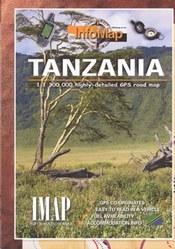 Tanzania térkép - IMAP