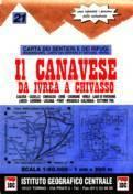 Canavese térkép - IGC
