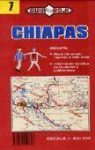 Chiapas állam térkép (No7) - Guia Roji