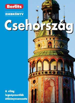 Czech Republic, guidebook in Hungarian - Berlitz