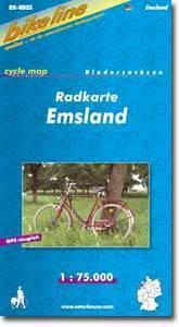 Emsland kerékpártérkép - (RK-NDS 5)
