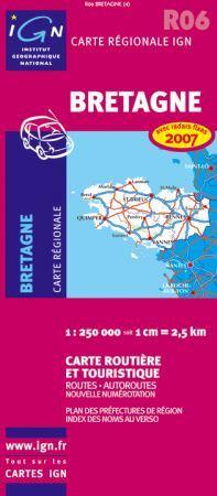 Bretagne - IGN R06