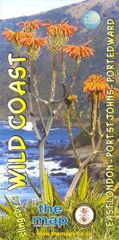 Wild Coast: East London - Port St Johns - Port Edward térkép - Baardskeerder