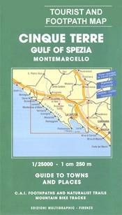 Cinque Terre térkép (No 506) - Multigraphic
