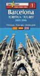 Barcelona térkép - Geoestel