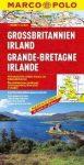 Nagy-Britannia és Írország térkép - Marco Polo