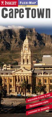 Cape Town laminált térkép - Insight