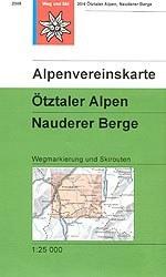 Ötztaler Alpen, Nauderer Berge - Alpenvereinskarte 30/4