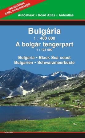 Bulgária autóatlasza - Szarvas & Hibernia