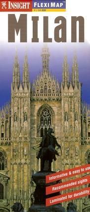 Milano laminált térkép - Insight