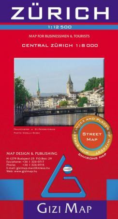 Zürich térkép - Gizimap