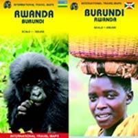 Ruanda és Burundi térkép - ITM