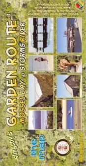 Garden Route térkép - Baardskeerder