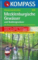 Mecklenburgische Gewässer Wasserwanderatlas - Kompass K 608