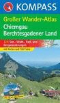 Chiemgau-Berchtesgaden Großer Wander-Atlas - Kompass K 594