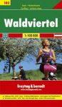 Waldviertel kerékpártérkép - Freytag-Berndt