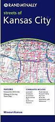 Kansas City, MO térkép - Rand McNally