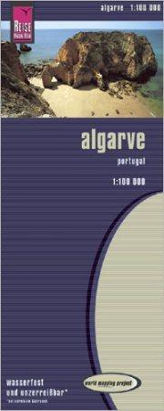 Algarve térkép - Reise Know-How