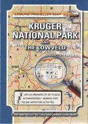 Kruger National Park and the Lowveld térkép - Infomap