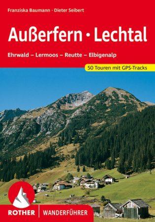 Außerfern & Lech-völgy, német nyelvű túrakalauz - Rother