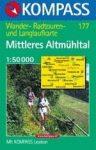 Mittleres Altmühltal turistatérkép (WK 177) - Kompass