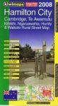 Hamilton / Cambridge / Te Awamutu térkép - Kiwimaps