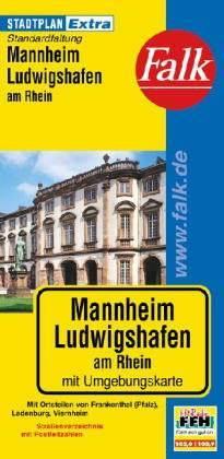 Mannheim, Ludwigshafen Extra várostérkép - Falk