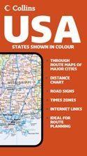 Amerikai Egyesült Államok térkép - Collins