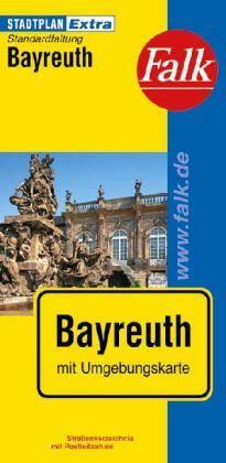 Bayreuth Extra várostérkép - Falk